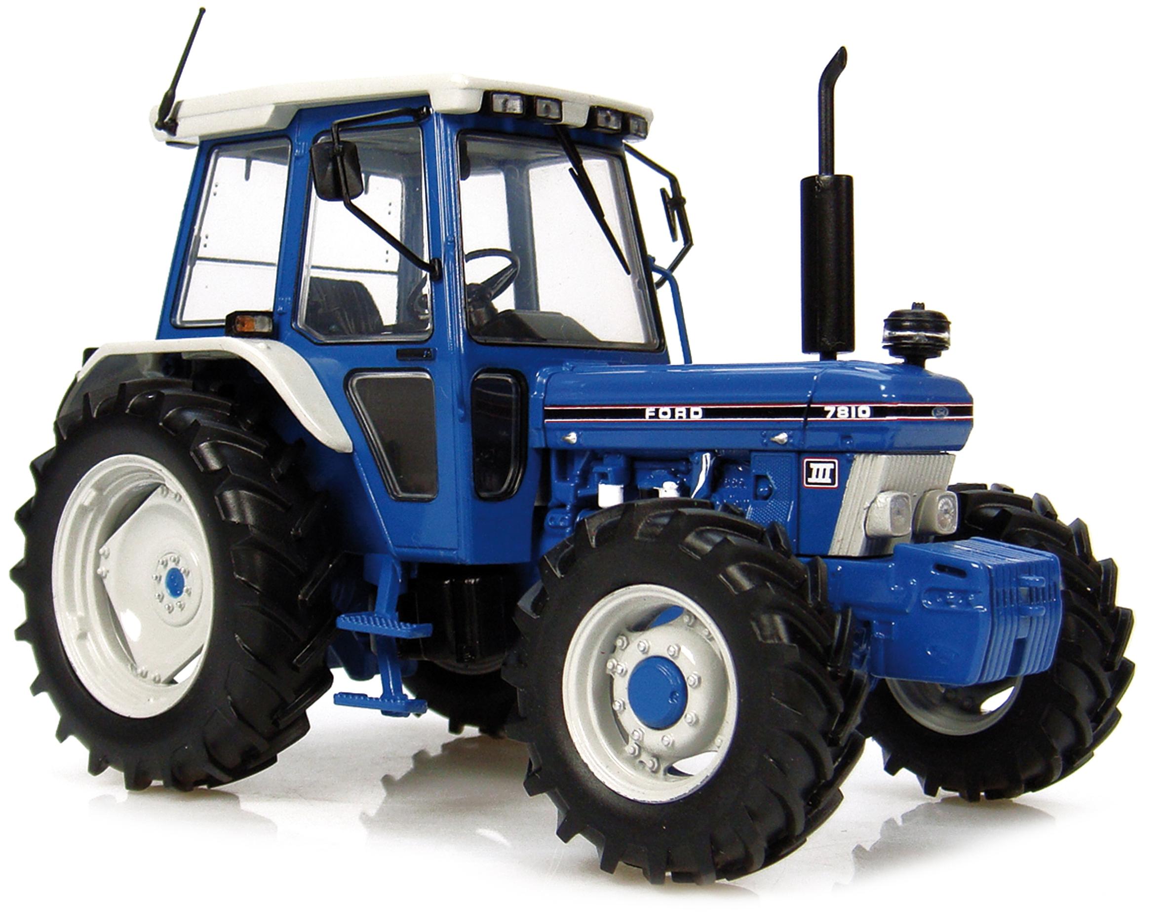Ford 7810 bleu fabriqu par universal hobbies gamme agricole - Image de tracteur ...