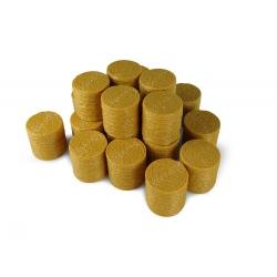 Vingt balles de foin rondes