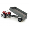 REMORQUE MASSEY FERGUSON 3TON - TIPPING BED WITH DROP SIDES
