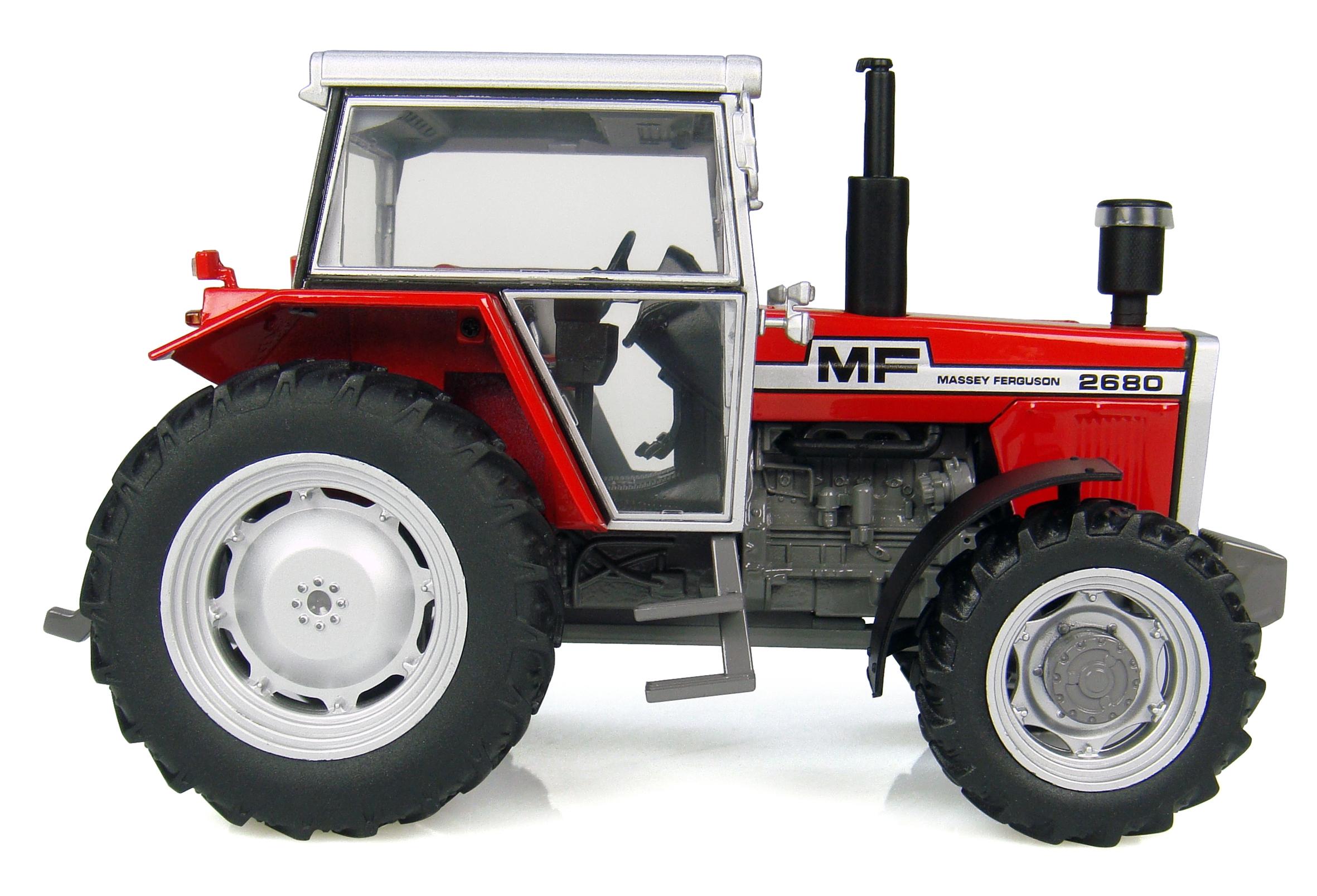 TRACTEUR MASSEY FERGUSON 2680 - 4WD (1980)