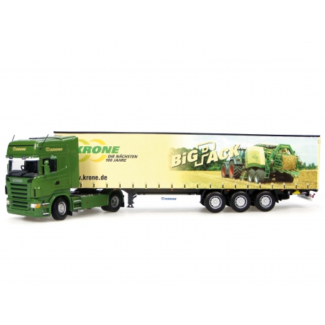 CAMION SCANIA +KRONE BIG PACK