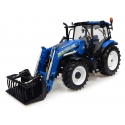 New Holland T6.145 avec chargeur 740TL