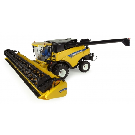 New Holland CR9080 with front wheels