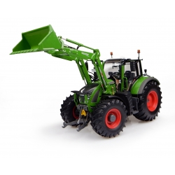 Fendt 722 Vario with front loader