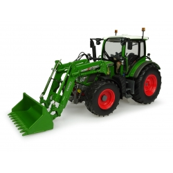 Fendt 516 Vario with front loader - New Nature Green color