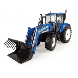 New Holland T5.120 with 740TL loader