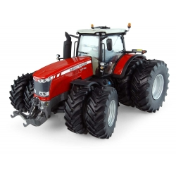 Massey Ferguson 8740 with dual wheels