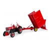 Massey Ferguson MF 21 - 3.5 Ton tipping trailer with Silage extension sides
