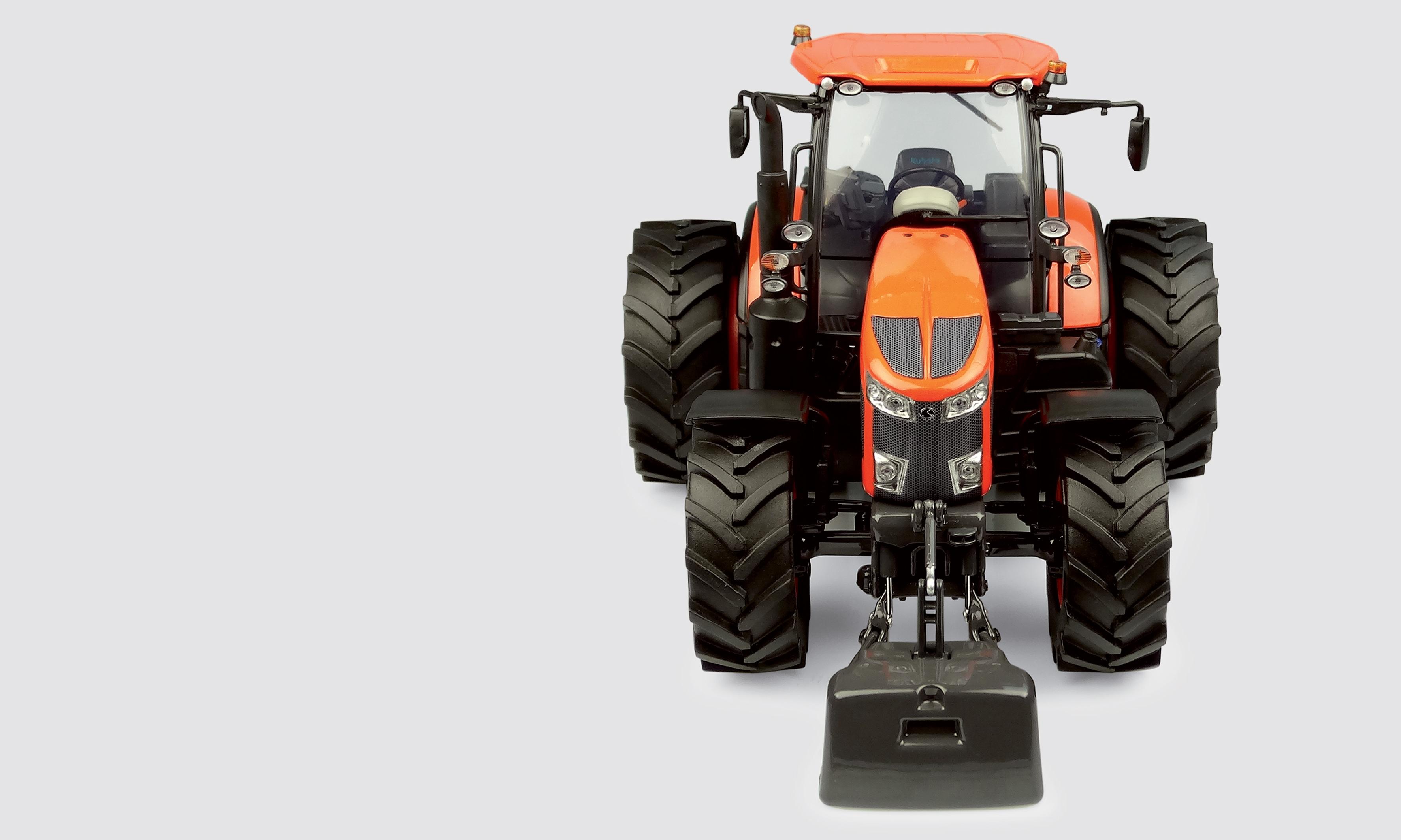 Kubota M7172 - 2019 - 6 roues