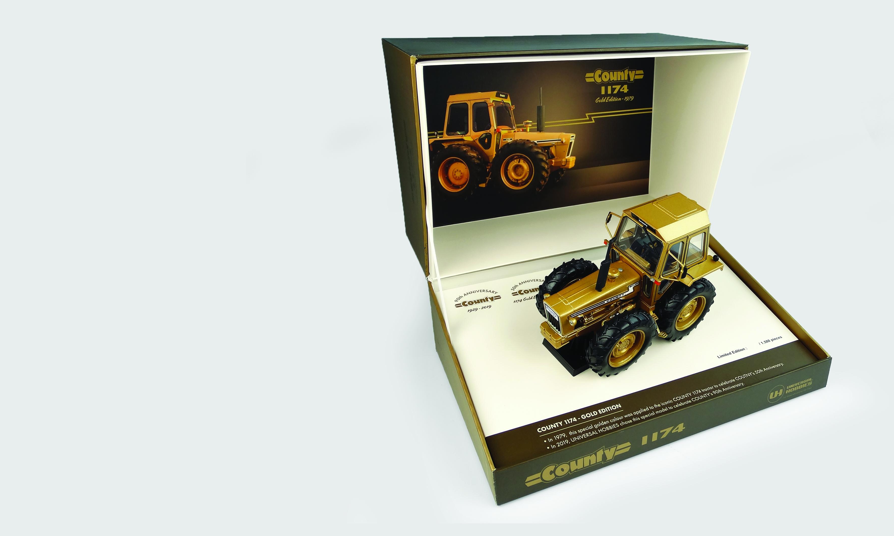 """FORD County 1174 - version """"Dorée""""50ème Anniversaire du modèle County 1929 - 1979"""